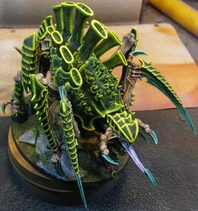 Tyranid color paint schemes – how to paint tyranids – tyranid paint schemes – tyranid army scheme – tyranid color scheme – How to choose Tyranid army color scheme – Tyranid Warhammer 40k colors – Hive fleet color schemes – Hive fleet paint scheme – green highlights edge