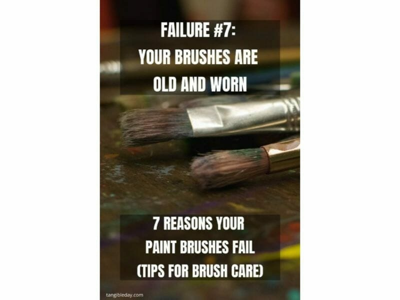 7 Reasons why brushes for miniature painting fall apart - reasons for paintbrush failure - ways to take care of your paint brushes - miniature paint brush care and maintenance - tips for brush care for modelers and hobbyists - paintbrush cleaning tips and care - replace old brushes