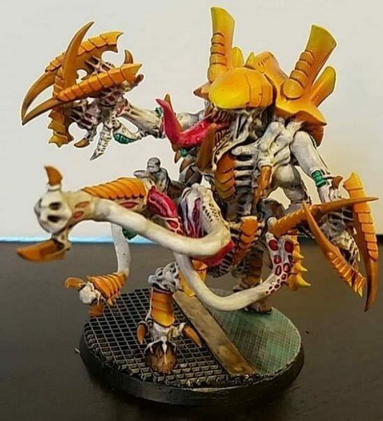 Tyranid color paint schemes – how to paint tyranids – tyranid paint schemes – tyranid army scheme – tyranid color scheme – How to choose Tyranid army color scheme – Tyranid Warhammer 40k colors – Hive fleet color schemes – Hive fleet paint scheme – orange citrus