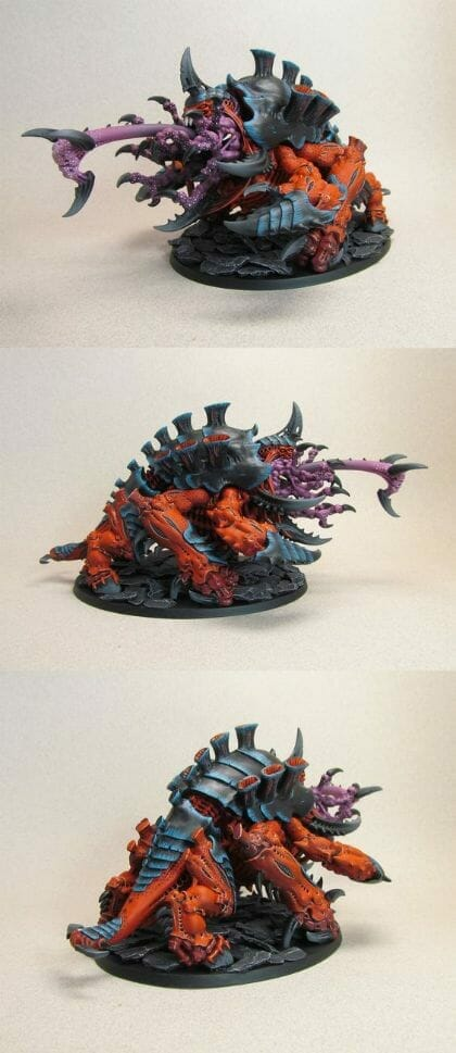 Tyranid color paint schemes – how to paint tyranids – tyranid paint schemes – tyranid army scheme – tyranid color scheme – How to choose Tyranid army color scheme – Tyranid Warhammer 40k colors – Hive fleet color schemes – Hive fleet paint scheme – dark orange