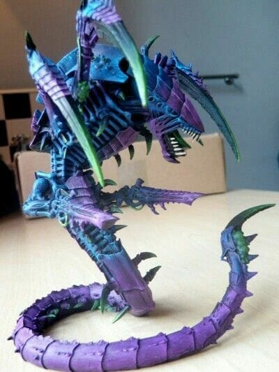 Tyranid color paint schemes – how to paint tyranids – tyranid paint schemes – tyranid army scheme – tyranid color scheme – How to choose Tyranid army color scheme – Tyranid Warhammer 40k colors – Hive fleet color schemes – Hive fleet paint scheme – purple with green talons