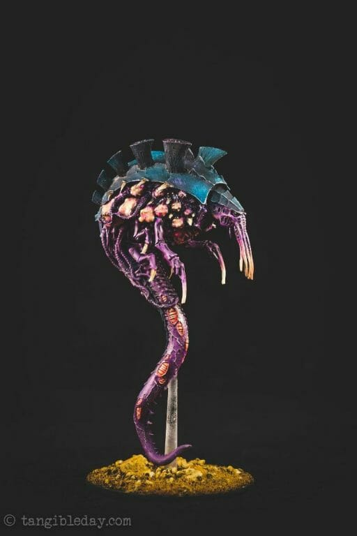 Tyranid color paint schemes – how to paint tyranids – tyranid paint schemes – tyranid army scheme – tyranid color scheme – How to choose Tyranid army color scheme – Tyranid Warhammer 40k colors – Hive fleet color schemes – Hive fleet paint scheme – purple black and flesh