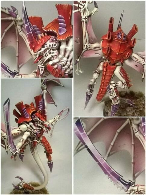 Tyranid color paint schemes – how to paint tyranids – tyranid paint schemes – tyranid army scheme – tyranid color scheme – How to choose Tyranid army color scheme – Tyranid Warhammer 40k colors – Hive fleet color schemes – Hive fleet paint scheme – dark orange red armor