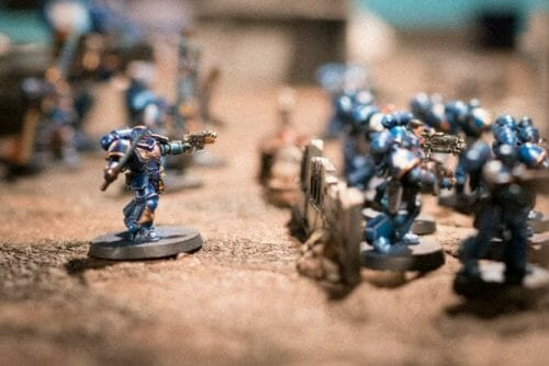 How to beat a bigger army with a smaller force - business wargaming - miniature wargaming strategy - principles for winning against bad odds - wargaming strategy for victory - miniature tabletop gaming - how to win against a larger army - warhammer 40k tabletop gaming principles