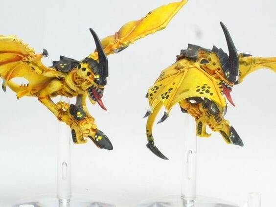 Tyranid color paint schemes – how to paint tyranids – tyranid paint schemes – tyranid army scheme – tyranid color scheme – How to choose Tyranid army color scheme – Tyranid Warhammer 40k colors – Hive fleet color schemes – Hive fleet paint scheme – yellow winged nids