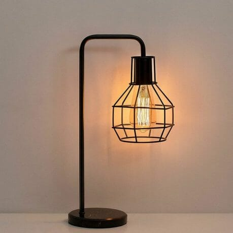 15 Cool Office Lamps for Any Workspace – cool desk lamps – cool lamps – office lamp ideas – unique desk lamps – best lamps for office work – unique office lamp - vintage table lamp light