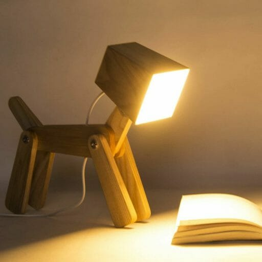 15 Cool Office Lamps for Any Workspace – cool desk lamps – cool lamps – office lamp ideas – unique desk lamps – best lamps for office work – unique office lamp - cute dog lamp
