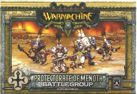 Menoth Crusader Warjack: Quick n' Dirty Paint Job - how to paint a menoth warjack - painting the crusader menoth miniature - warmachine painting - painting warmachine models for menoth - starter box