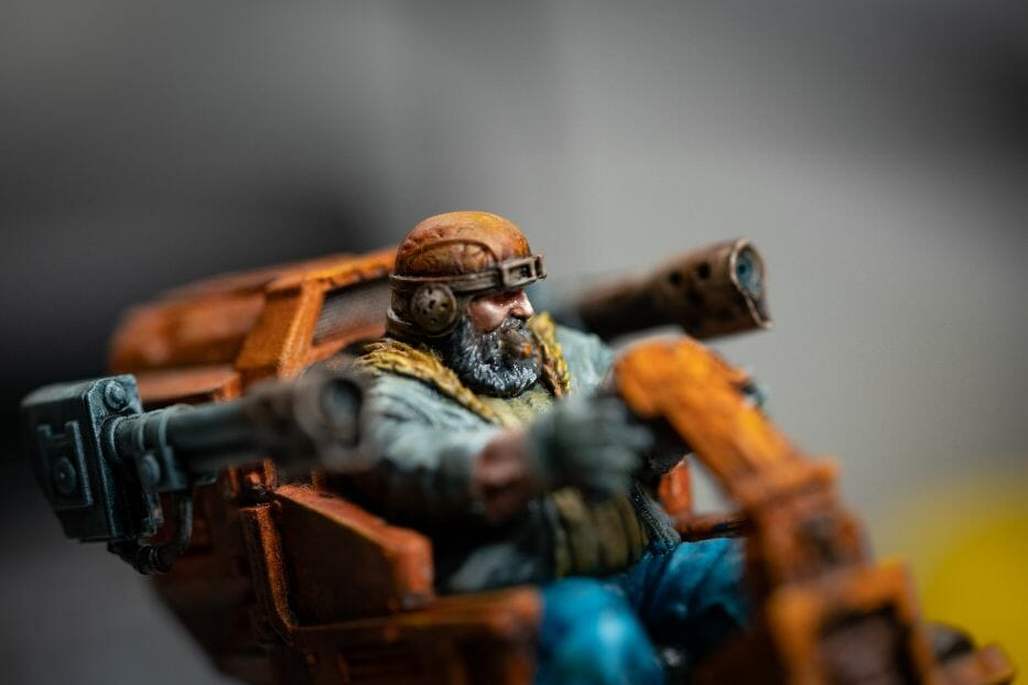 """Oil Painting """"Barnascus"""" (Judgement Miniatures) - How to Paint Tips - Why paint miniatures with oil paint – Barnascus Judgement Miniature – Miniature painting with oil colors – tips for painting miniatures with oil paint – oil painting miniature tutorial – metallic oil paints - tips for details and weathering"""
