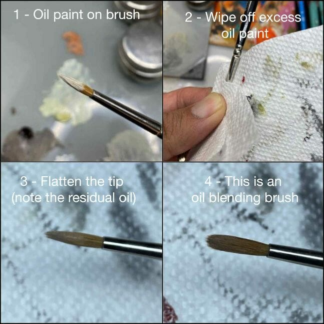 How to paint miniatures with oil paints - painting ashtooth with oil paints - oil painting a 54mm scale model - painting miniatures and models with oil colors - Judgement Miniatures - painting resin miniature with oil paint - blending brush
