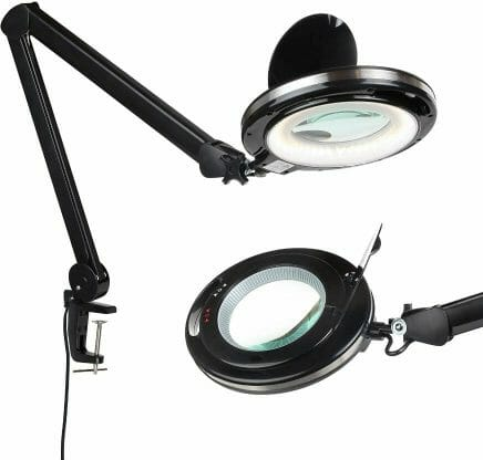 13 Best Lights for Painting Miniatures and Models - Best lamp for miniature painting - hobby lamp - hobby light - best miniature painting lamp - hobby lamps - desk lamp for hobbies - lights for miniature painting and hobby - lightview pro