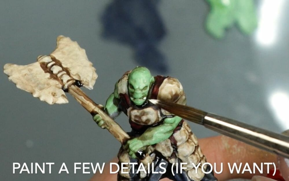 Speed painting tabletop miniatures - How to speed paint RPG miniatures and models - painting bulk dnd miniatures - how to paint models faster for tabletop games - 5 easy steps for painting miniatures fast - paint details if you want - this is optional