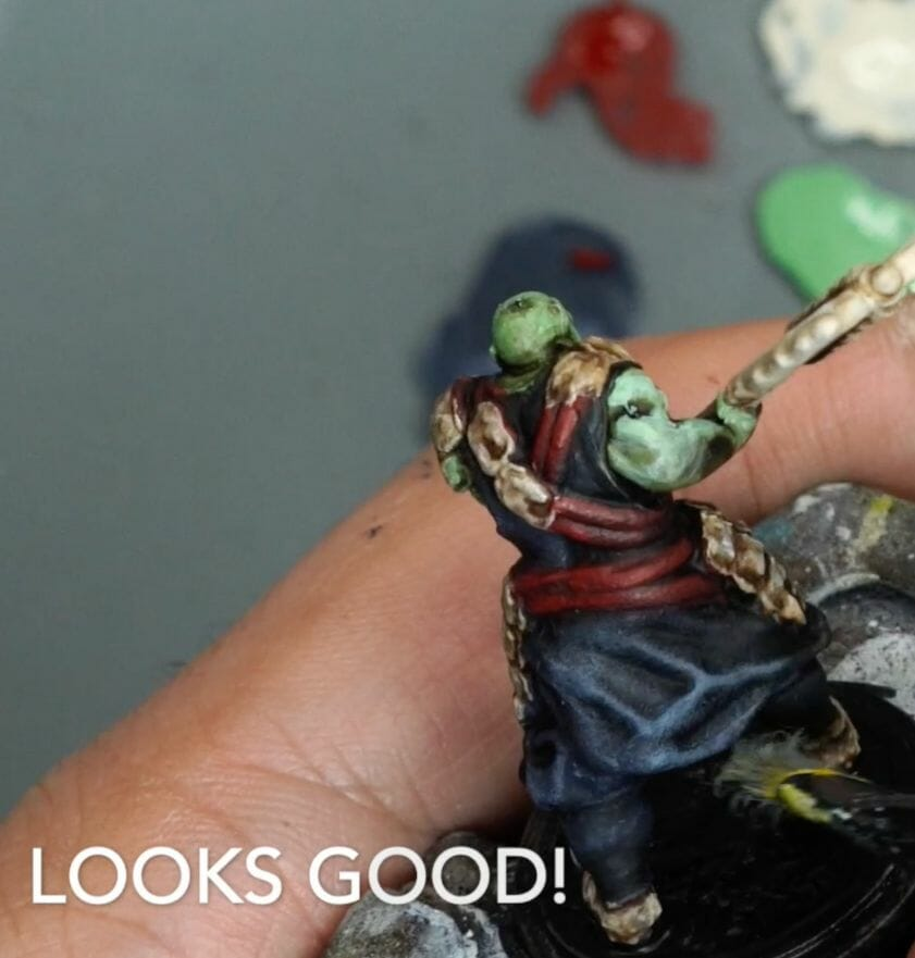 Speed painting tabletop miniatures - How to speed paint RPG miniatures and models - painting bulk dnd miniatures - how to paint models faster for tabletop games - 5 easy steps for painting miniatures fast - make sure your model is completely painted