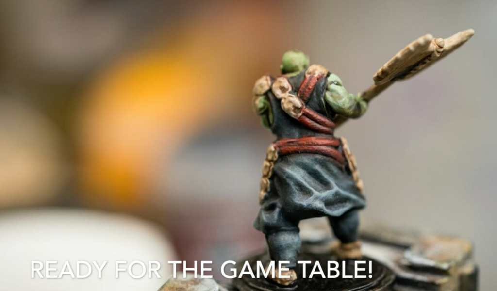Speed painting tabletop miniatures - How to speed paint RPG miniatures and models - painting bulk dnd miniatures - how to paint models faster for tabletop games - 5 easy steps for painting miniatures fast - finished piece