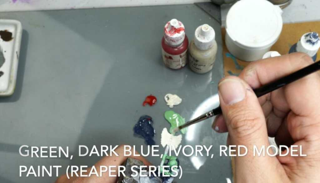 Speed painting tabletop miniatures - How to speed paint RPG miniatures and models - painting bulk dnd miniatures - how to paint models faster for tabletop games - 5 easy steps for painting miniatures fast - choose a few colors, no more