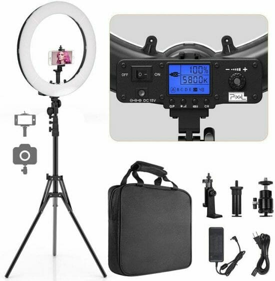 Best LED Ring Lights for Miniature Photography - good lights for photographing miniatures - best lights for taking better pictures of models and miniatures - ring light review for painting miniatures - photography tips for lighting miniatures and models - the pixel ring light for model and miniature photography