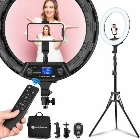 LED Ring light for miniature photography review - photography lighting - how lighting is important for photographing miniatures and models - product shot ring light