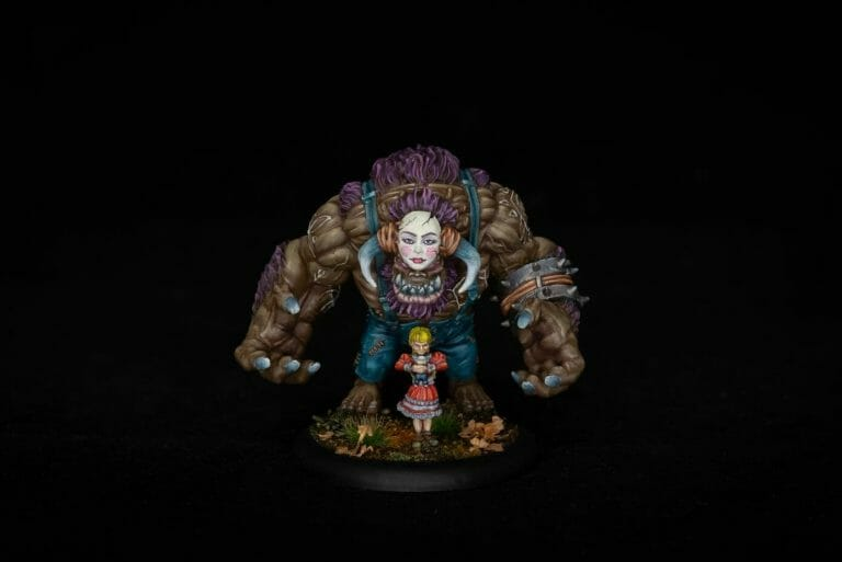 Best LED Ring Lights for Miniature Photography - good lights for photographing miniatures - best lights for taking better pictures of models and miniatures - ring light review for painting miniatures - photography tips for lighting miniatures and models - model photo of the grymkin child warlock