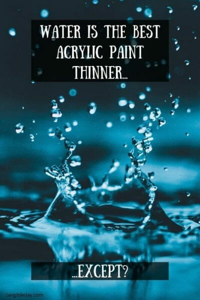 How to Thin Acrylic Hobby Paint for Miniatures (10 Useful Ways) - How to thin paints for miniatures - Thin your paints - ways to thin acrylic model paints - thinning paints for painting miniatures - how to thin your paints for miniatures and models - why thin paints for painting miniatures - why to thin acrylic paint for painting miniatures - hobby paint thinning mediums - water is the best model paint thinner