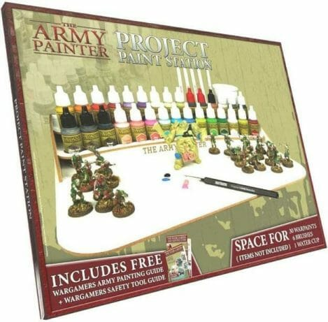 Best miniature painting cases, portable hobby paint station, and miniature paint workstations for modeling and hobbyists – Best portable hobby workstation for painting miniatures and models – tips and guide for paint organizers - model paint case and box - Army Painter project paint station review