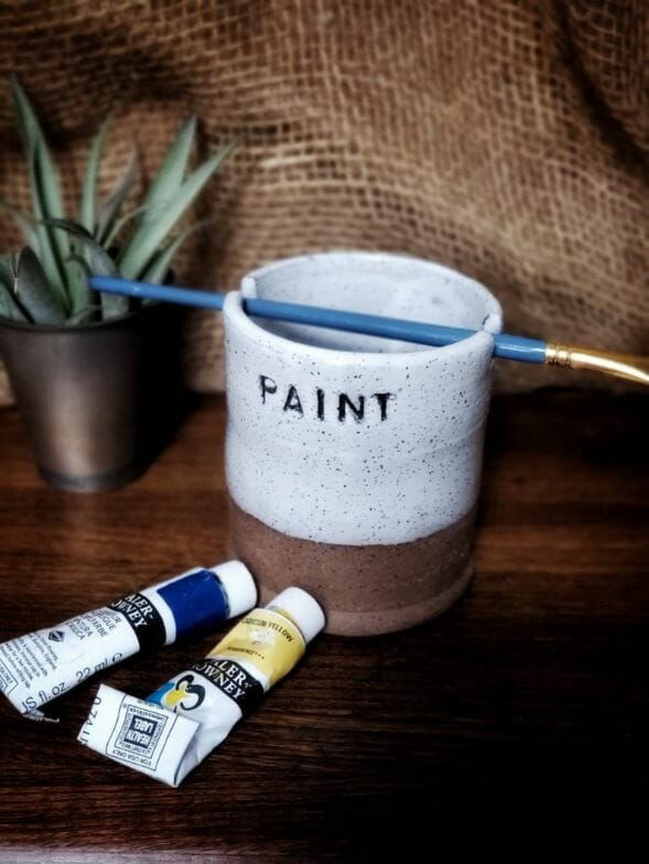 Farmhouse-White-Painters-Water-Cup