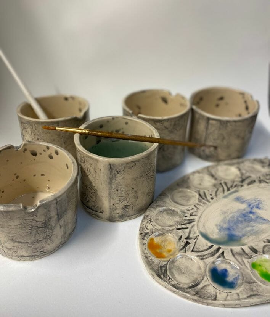 Handmade-Ceramic-Watercolour-Cups