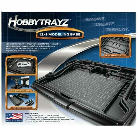 Best miniature painting cases, portable hobby paint station, and miniature paint workstations for modeling and hobbyists – Best portable hobby workstation for painting miniatures and models – tips and guide for paint organizers - model paint case and box - tray workstation for painting miniatures and models hobbytrayz