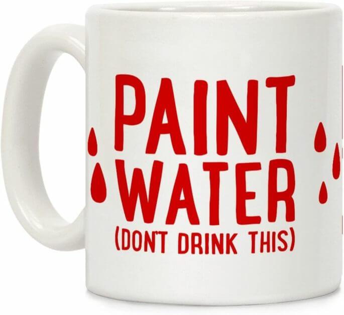 Paint-Water-Ceramic-Coffee-Mug