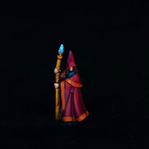 Spell Casters with Attitude: sorcerer (RPG Tips) - overview of the TTRPG sorcerer class - how to play a sorcerer rpg spellcaster - reaper miniature magic user