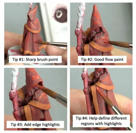 How to paint RPG miniatures for tabletop games in 10 easy steps - painting dnd models - rpg miniature painting - how to paint miniatures for dnd and roleplaying games RPGs - painting dungeon and dragon models - painting dnd minis - recommended varnishes for gaming miniatures - how to paint details on rpg minis