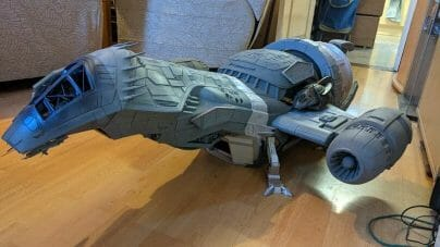 Is 3D printing miniatures and models worth it? Are subscriptions to 3D printing services or 3D model marketplaces good or worthwhile - 3D printing miniatures and models overview - why 3D printing is changing the tabletop miniature gaming industry -  3D printed space ship serenity firefly gambody
