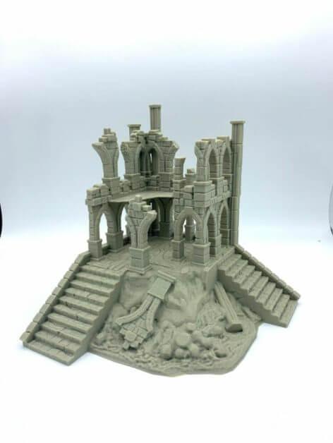 Best tabletop terrain on Etsy – Warhammer terrain – wargaming terrain – cool modular tabletop terrain – DIY wargaming terrain for 28mm games – RPG gaming terrain on Etsy - tallsworth ruin terrain set