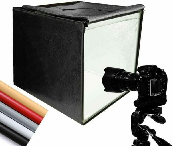 Pros and Cons of a Lightbox - How to Take Better Miniature Photos Without a Lightbox - Tips for Taking Better Pictures of Miniatures and Minis Without a Photobox studio - tips for hobby photography - miniature photography - lightbox