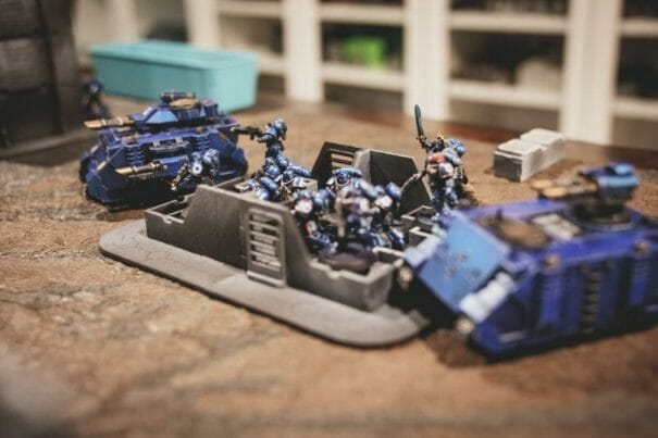 Is Warhammer 40K Worth It? Why You Need to Play Warhammer 40k - Is Warhammer 40k expensive? - Should I start playing warhammer 40000 - why you should play WH40k - pitched battle line ultramarines