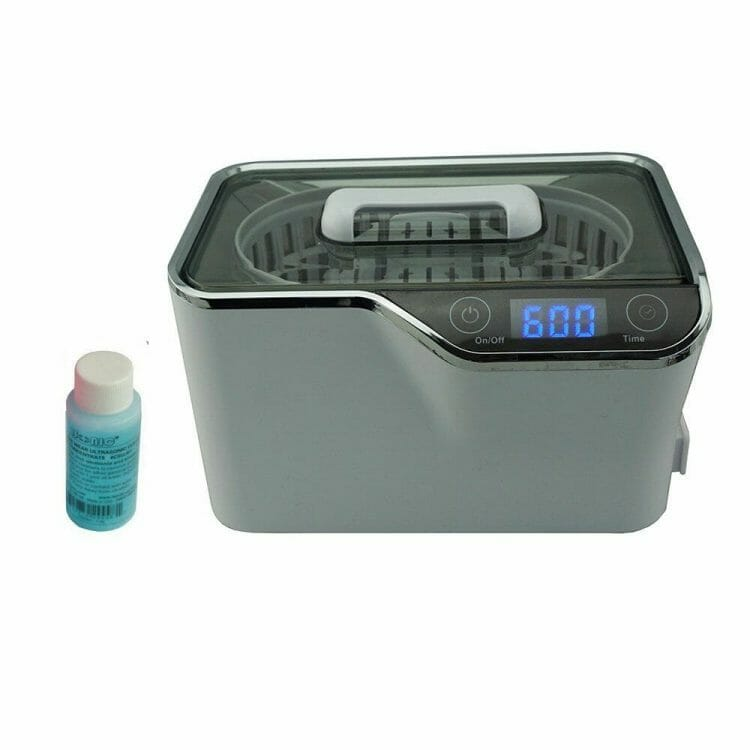 7 Great Ultrasonic Cleaners for Airbrushes and Miniatures - Best ultrasonic cleaner for airbrushes and miniatures - ultrasonic cleaners for cleaning miniatures and models - iSonic Digital Ultrasonic Cleaner Model CDS100