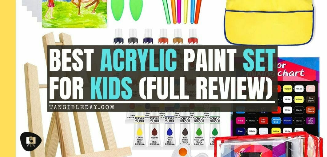 Best paint sets for kids – paint set for kids – acrylic paint set – paint for kids – acrylic paint for kids – deluxe paint set for kids review – hobby arts and crafts - banner image