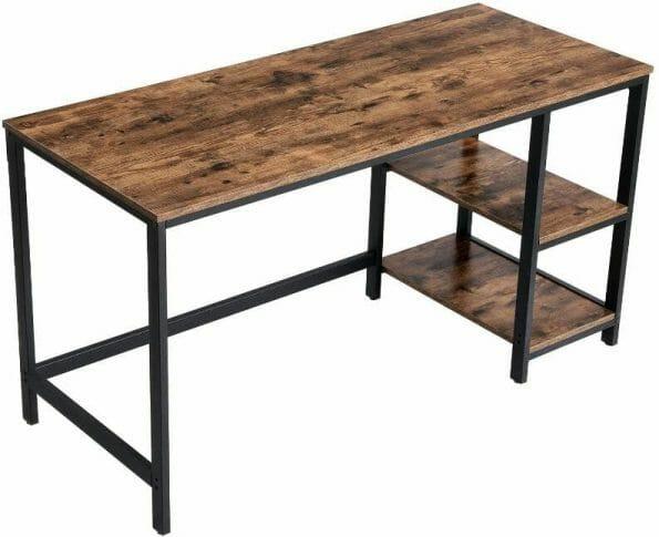 Best miniature painting desks - best hobby desk for miniatures and models - painting desks for miniatures - recommended desks for painting miniatures - computer office desk option with shelves
