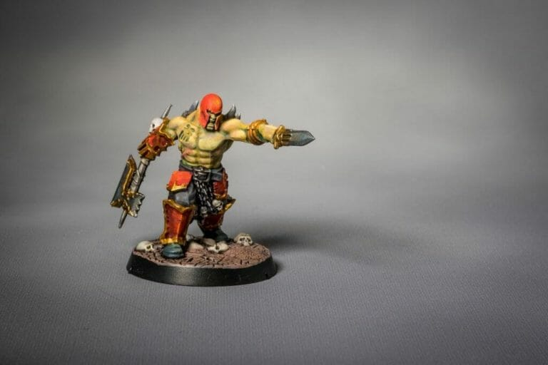 Use an Expressive Miniature Painting Style - What is expressive miniature painting? - Expressive painting - painterly styles for miniatures - 10 ways to paint miniatures expressively - 10 creative ideas for more expressive and unique miniature painting - models inspired frank frazetta