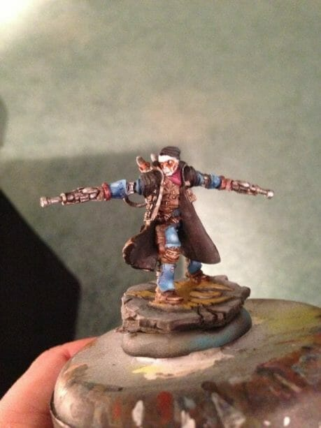 Use an Expressive Miniature Painting Style - What is expressive miniature painting? - Expressive painting - painterly styles for miniatures - 10 ways to paint miniatures expressively - 10 creative ideas for more expressive and unique miniature painting - caine cygnar warmachine