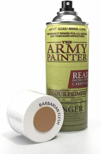 Top 10 Primers for Plastic and Metal Miniatures (Reviews and Tips) - best primer for plastic, metal, or resin miniatures and model. Army painter flesh color primer