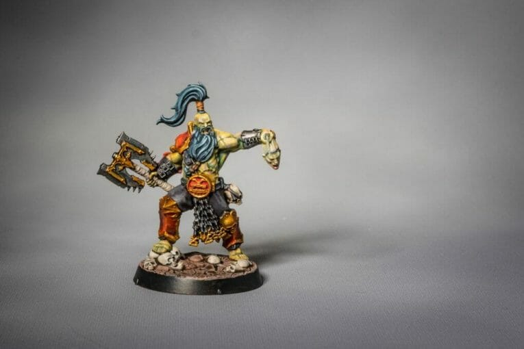 Use an Expressive Miniature Painting Style - What is expressive miniature painting? - Expressive painting - painterly styles for miniatures - 10 ways to paint miniatures expressively - 10 creative ideas for more expressive and unique miniature painting - barbarian flesh