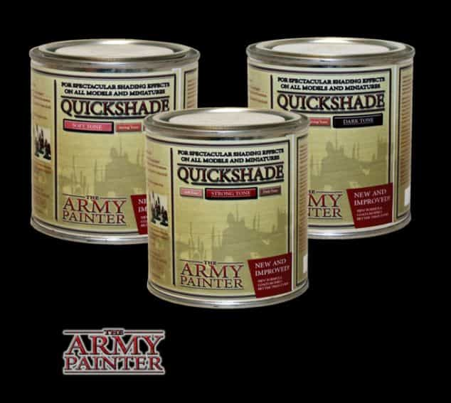 """Guide for """"Dipping"""" Miniatures to Speed Paint (Army Painter Quickshade Review) - Minwax Polyshades miniatures – Army Painter Quick Shade Alternatives – minwax polyshades for miniature painting - army painter quickshade review - army painter strong tone wash - quickshade tone review"""