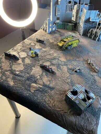Take Professional Pictures of Your Miniatures Helpful Tips - Taking better photos of minis – photography tips for taking pictures of miniatures – simple tips for taking great photos of your painted miniatures – photography tips to help you produce better pictures – miniature photography guide - scene setting