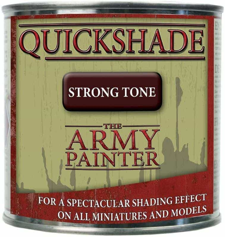 """Guide for """"Dipping"""" Miniatures to Speed Paint (Army Painter Quickshade Review) - Minwax Polyshades miniatures – Army Painter Quick Shade Alternatives – minwax polyshades for miniature painting - army painter quickshade review - army painter strong tone wash - can"""