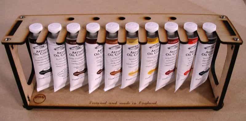 Paint-Rack-for-oil-paint-types