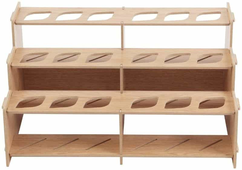 paint tube organizer wooden - best paint tube storage racks and displays - how to store paint tubes