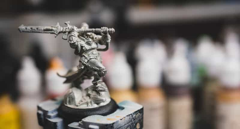How to prime miniatures with an airbrush - how to airbrush primer on miniatures and models - priming miniatures with an airbrush - tips for priming miniatures with an airbrush - privateer press coleman stryker miniature