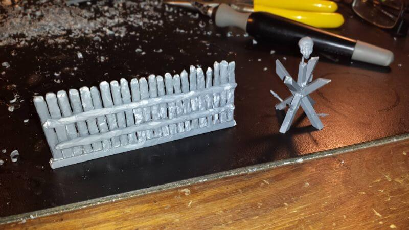 9 Recycling Ideas for Old Sprues from Warhammer and Model Kits - sprue terrain with Warhammer 40k kits – recycling Warhammer sprues – sculpted sprues