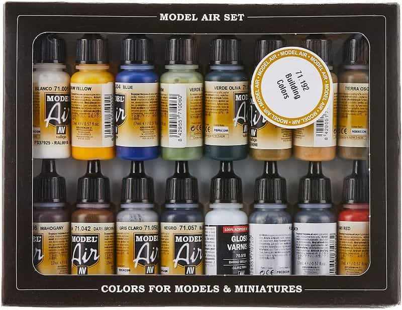 How to thin acrylic paint for airbrushes – how to thin paint for airbrushing miniatures and models –  What and how to thin hobby paint for your airbrush - airbrush ready paints for model and miniature painting