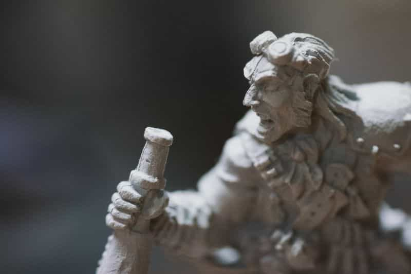 Top 3 Mistakes To Avoid When Priming Miniatures and Solutions -  tips for resolving and fixing primer issues on models - bubbly textured primer